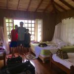 The main room of the casita on our last day