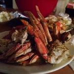 Outstanding dungeness crabs