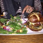 The veg head burger - completely delicious!