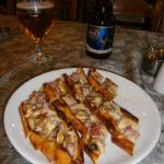 Delicious Pide and a cold beer