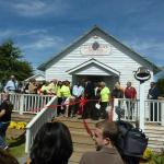Grand opening of the Flagg Grove School house / Tina Turner Museum 2014