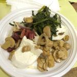 Mozzarella Bufala, Spinach, Prosciutto, Mushroom
