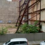 Blick aus dem Hotel-Fenster