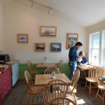 Café inside eating area