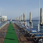Sunbathing jetty