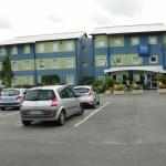 Hôtel IBIS vu du grand parking