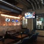 We are the 1st customers at Henry's Tavern!  @logicav installed the AV system here and ate some