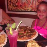En el Restaurante con mi sobrina Jenny