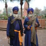 indianos em visita