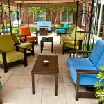 Patio Seating with Relaxing Courtyard