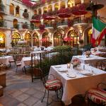 The Spanish Patio at Mission Inn Restaurant