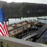 The Waterfront Inn's deck