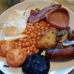 best breakfast in the whole UK! served in the morning at Brynawel Farm.