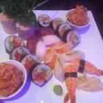 Plateau de sushis du chef