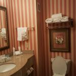 1970's Circus Circus Hotel Bathroom look alike at the Hampton