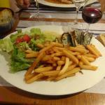 les sardines grillées