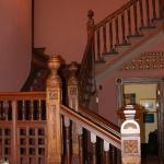 Stairway inside Marshall House.  (Available for weddings and events.)