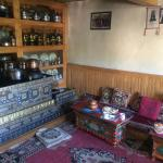 the place where we were served food - the ladakhi way :)