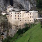 Predjama Castle in the caves