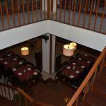 the ground floor restaurant
