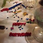 Decorations on the table