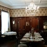 Beautifully restored dining room