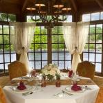 Private Dining Gazebo Interior