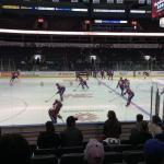 Every seat is a good seat for hockey games
