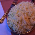 Good portion of rice