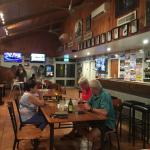 Roebuck plains Roadhouse. Huge meals, great Tavern and Shop. Grass sites and cool pool. What mor