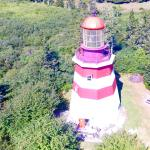 Seal Island Lighthouse Museum (drone photo)
