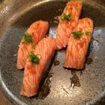 Yasu style salmon, melts in your mouth!