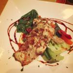 Fish Of the Day (Barramundi with Asian Vegetables)