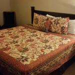 Lovely bedspread, Comfortable bed