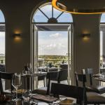 Spectacular views over Joburg from the main dining room