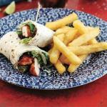 Tandoori chicken wrap is also new to our deli range