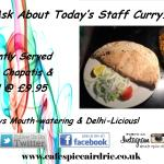 One Of Our Famous Staff Curries