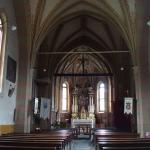 L'interno a unica navata