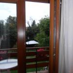 Vistas hacia la terraza y jardín