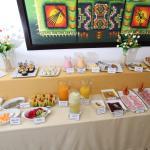 Desayuno Buffet / Vista frontal
