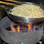 Preparação Espaguete com Frutos do Mar