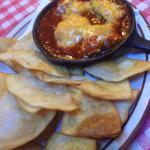 Jalapeno angles (jalapeno, cream cheese, BBQ, slow-cooked pork)
