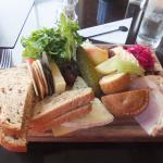 cheese meat ploughmans