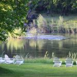 Enjoy the solitude at the rivers edge