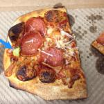 Green stuff on my Pepperoni Pizza