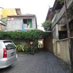 Looking back towards Jl Bakung Sari