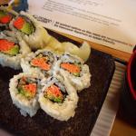 Sustainable sushi!