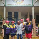 Gearing Up for rafting