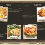 very nice menu ....