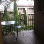 Terrasse de la chambre confort